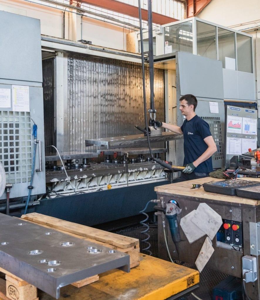 metal part machinery