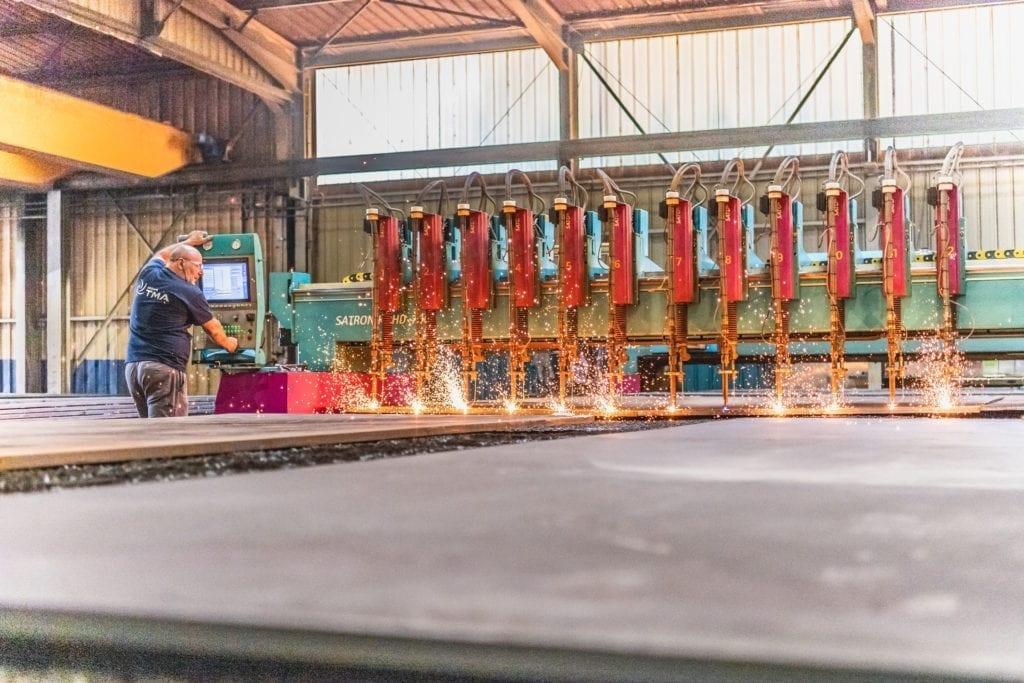 metal oxy-cutting operator