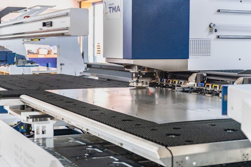 automated metal punching machine