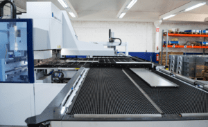 Automatic bending center